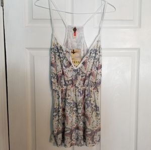 NWT Free People Butterfly Shadow Tank Top